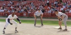 Baseball lead off - Major League
